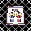 Vote Choice Online Icon
