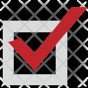 Square Form Accept Icon