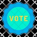Vote Stamp Voting Election Vote Stamp Icon