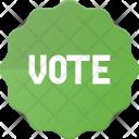 Badge Vote Voted Icon