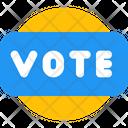 Vote Badge Vote Badge Icon