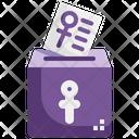 Vote Ballot Ballot Paper Voting Icon