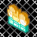 Hand Voting Isometric Icon