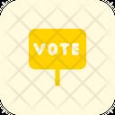 Vote Board Vote Sign Voting Icon