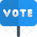 Vote Board Vote Sign Voting Icon