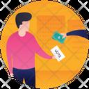 Vote Bribery Vote Selling Illegal Voting Icon