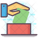 Vote Casting Ballot Box Voting Icon