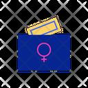Vote For Women Icon