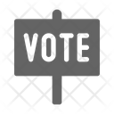 Vote signboard Icon