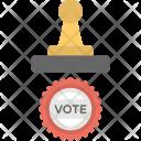 Vote Stamp Voting Icon