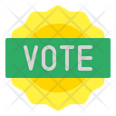 Vote Sticker Icon