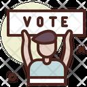 Voter Vote Protest Icon