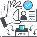 Voter Id Id Card Id Proof Icon