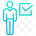 Voted Person Vote Sign Election Icon