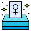 Voting Ballot Box Icon