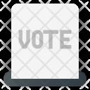 Ticket Vote Voting Icon