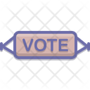 Banner Vote Poster Icon