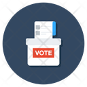 Ballot Box Voting Vote Posting Icon