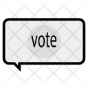 Voting conversation Icon