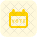 Voting Date Election Date Vote Day Icon