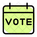 Voting Date Icon
