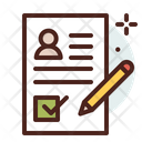 Paper Voting Choose Voting Paper Icon