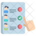 Artboard Voating Machine Voting Icon