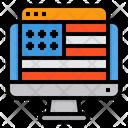 Voting Website Online Voting E Voting Icon