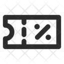 Voucher Promotion Icon