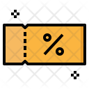 Voucher Discount Commerce Icon