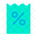 Coupon Discount Offer Icon