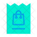 Voucher Bag Icon