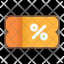 Voucher Discount Icon