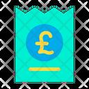 Pound Coupon Discount Icon