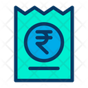 Rupees Coupon Discount Online Icon