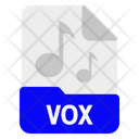 Vox File Format Icon
