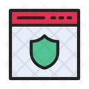 Vpn Security Webpage Icon