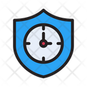 Vpn Security Time Icon