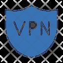 Vpn Shield Lock Icon