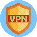 Vpn Network Security Icon
