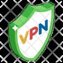 Vpn Encryption Virtual Private Network Network Shield Icon