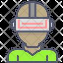 Vr Glasses Virtual Icon