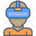 Virtual Vr Glasses Icon
