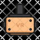 Vr Virtual Reality Gadget Icon
