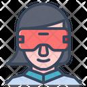 Vr Virtual Reality Glasses Icon