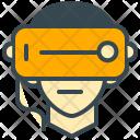 Robotics Glasses Vr Icon