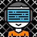 Vr Online Glasses Icon