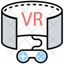 Vr Gamer Gamepad Icon