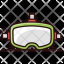 D Goggles Virtual Goggles 3 D Glasses Icon