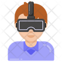 Virtual Reality Glasses Vr Glasses Vr Headset Icon